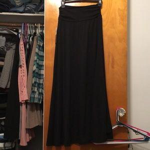 Joe Benbasset Black Maxi Skirt